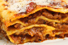Tests reveal frozen lasagne in the UK is up to 100 per cent horse meat.Photo / Thinkstock