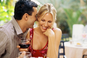 When lining up a venue for a dinner date it's important to give some thought to what will work best. Photo / Thinkstock