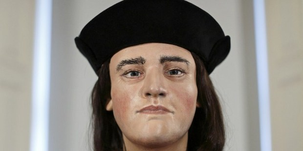 Loading A plastic facial model made from the recently discovered skull of England's King Richard III. Photo / AFP