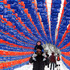 John Verheul and his son Xavier walk through a tunnel of 1,300 lanterns on display at Winterlude festival in Ottawa, Ontario. Photo / AP