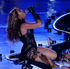 Beyonce performs during the halftime show of the NFL Super Bowl. Photo / AP