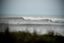 View of the surf at Kariotahi Beach, near Waiuku. Photo / File photo