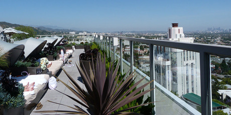 The Andaz rooftop, Los Angeles. Photo / Megan Singleton