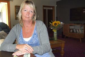 Cindy Herrett, Mother of Murray Miller. Photo / Alex Mason