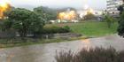 Wellington rain brings slips and flooding