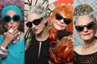 Karen Walker turns heads with ageless fashion, style and taste. Photo / Supplied