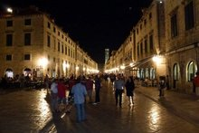 Stradun, the gorgeous main street of Dubrovnik, a UNESCO world heritage site. Photo / Justine Tyerman