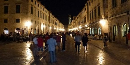 Stradun, the gorgeous main street of Dubrovnik, a UNESCO world heritage site. Photo / Justine Tyerman