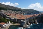 The UNESCO-protected Old Town of Dubrovnik encircled by the ancient stone wall. Photo / Justine Tyerman