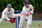 Wellington wicketkeeper-batsman Luke Ronchi has ramped up his appeal to be included in the New Zealand side as he made his fourth hundred of the Plunket Shield season. Photo / Greg Bowker