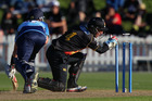 Luke Ronchi has taken his first-class average for this season past 65. Photo / Getty Images