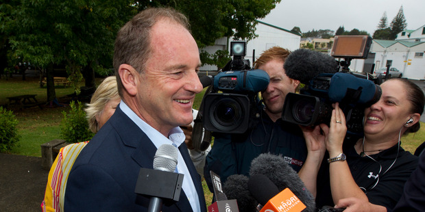 David Shearer said former Prime Minister Norman Kirk had made Waitangi Day a national holiday in 1974 'to give us a full sense of nationhood'. Photo / Brett Phibbs