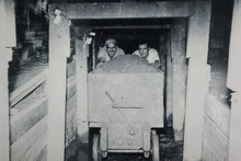 Air raid tunnels were constructed under Albert Park in 1942 to protect Aucklanders from an anticipated Japanese air force raid. Photo / Supplied