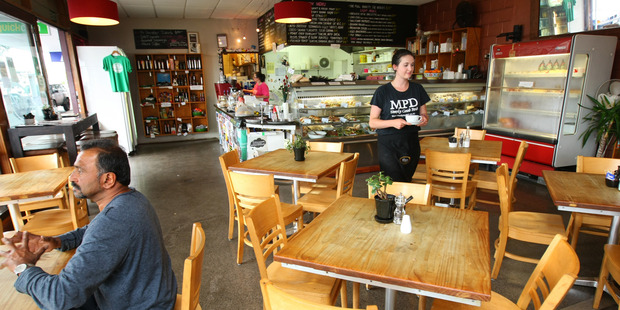 Mud Pie Deli on Great North Road Point Chevalier. Photo / Chris Gorman