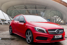Mercedes-Benz's new A-Class 250 Sport hatch seems to be offering its German rivals a challenge.Photo / Ted Baghurst