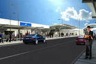 Auckland domestic airport terminal is undergoing a makeover. Photo / Supplied