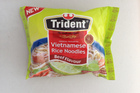 Vietnamese Rice Noodles Beef Flavour. $0.97 per 55g.  Photo / Supplied