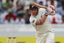 Brendon McCullum is tipped to move to No 5 in the batting order in the test series starting on March 6. Photo / AP