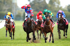 Pierro (centre) has returned after his spell in great order. Photo / Getty Images
