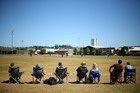 The ICC East Asia-Pacific T20 qualification tournament provided lively cricket and sedate viewing at Waikaraka Park. Photo / Getty Images