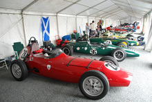 Dave Bishop has had his 1959 Elva FJ 100 since 1992, when he bought it off another Brit.