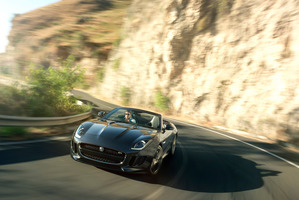 The Jaguar F-Type manufactures have done much of the development work on the challenging roads of North Wales.