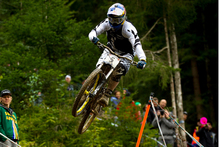 Brook MacDonald had a breakthrough victory in the 2012 World Cup round in France. Photo / Marius Maasewerd