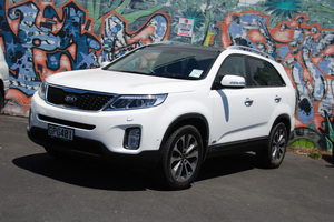 Kia Sorento. Photo / Jacqui Madelin
