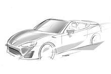 The Toyota FT-86 Open will be unveiled at the Geneva International motor show in March. Photo / Supplied 