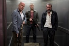 Bruce Willis, Jail Courtney and Sebastian Koch in A Good Day to Die Hard. Photo / Supplied