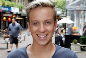 Kieran Ewald from Brisbane. Photo / Michael Craig