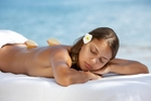 Pure Fiji warm seashell massage. Photo / Supplied
