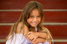 Sakara LamSam, 7, was exposed to CJD when she had surgery at Auckland Hospital. Photo / Greg Bowker 