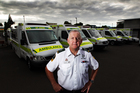 Peter Bradley, who has 12 years' experience running the world's busiest ambulance service, expects huge population growth to put pressure on St John this year. Photo / Doug Sherring