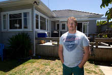 Greg Molloy bought this house with his wife thinking it was in the Ellerslie School zone. Photo / Brett Phibbs