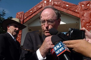 Don Brash was the victim on this day at Waitangi. Photo / Getty Images