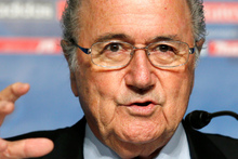 FIFA President Joseph S. Blatter.  Photo / AP