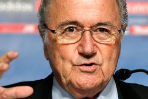 FIFA President Joseph S. Blatter.  Photo / AP