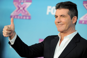 Simon Cowell's next project is a cooking show.Photo / AP