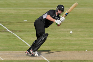 Colin Munro has now dedicated himself to his craft. Photo / AP