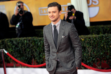Justin Timberlake reportedly blasted his ex-girlfriend for cheating on him in 2002. Photo / AP