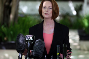 I have a real fear that the rivers of grog that wreaked such havoc among indigenous communities are starting to flow once again, says Prime Minister Julia Gillard. Photo / AP