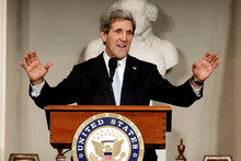 US Secretary of State John Kerry. Photo / AP