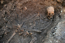 The remains of Richard III. Photo / AP