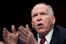 The President's top counterterrorism adviser of the last term, John Brennan, testified on Capitol Hill yesterday. Photo / AP