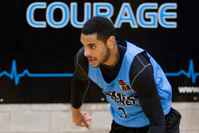 Back from the cold, Corey Webster has repaid the Breakers' reinstatement with impressive performances. Photo / Greg Bowker