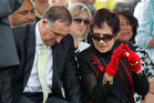 Prime Minister John Key and Titewhai Harawira at Te Tii Marae, last year. Photo / NZ Herald