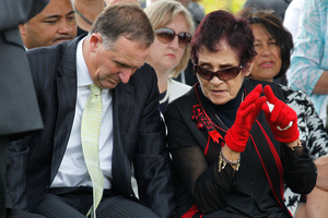 Two years ago the trustees tried to ban Mrs Harawira for 'rancidification of Maori protocols'. Photo / Natalie Slade