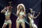 Destiny's Child reunited for a Super Bowl performance.Photo / AP