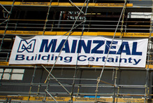 The future for more than 400 Mainzeal workers, hundreds of subcontractors and dozens of major construction projects is uncertain. Photo / Greg Bowker